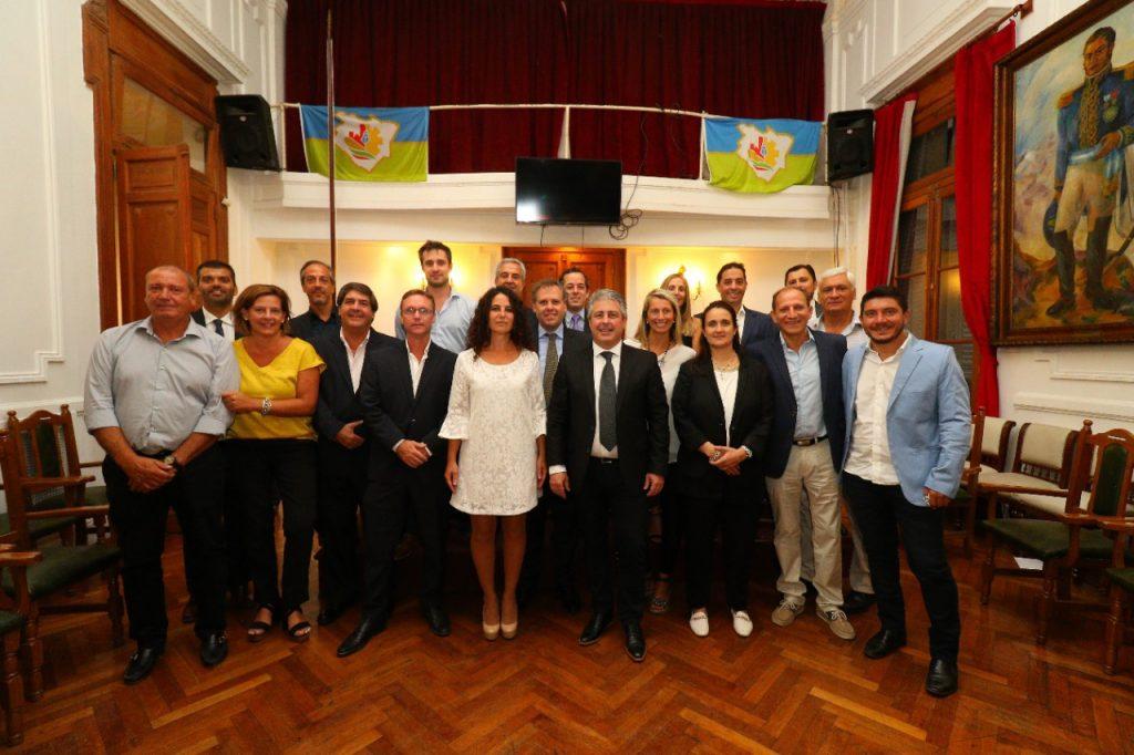 El intendente Martínez abrió con su discurso el periodo legislativo 1