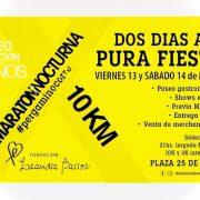 Se viene la 10° edición de la Maratón Nocturna Leandra Barros 34