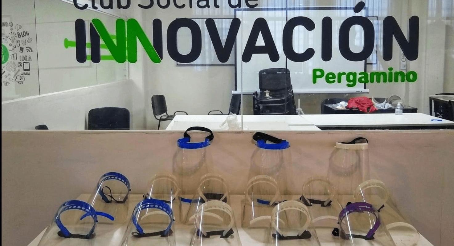 En Pergamino ya se entregaron 100 máscaras faciales a efectores del sistema de Salud 1