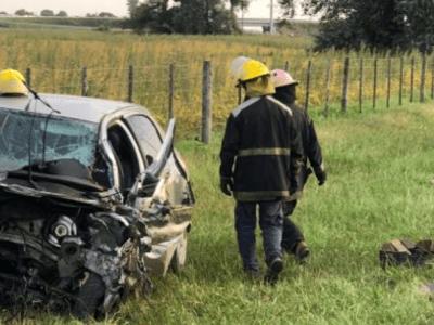 Accidente en Ruta 188 y Av Pellegrini 39