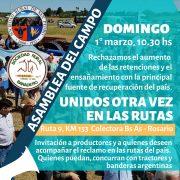 Nueva asambleas de las Sociedades Rurales de la Región 17