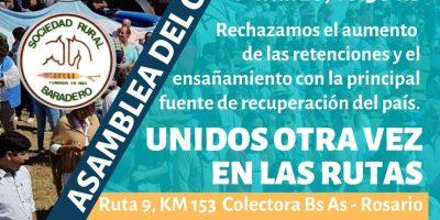 Nueva asambleas de las Sociedades Rurales de la Región 9