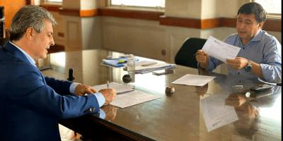 Martínez firmó un importante convenio con el Ministro de Desarrollo Social de la Nación 5