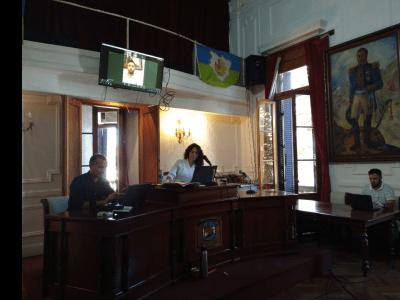Hoy el Concejo Deliberante volverá a sesionar 1