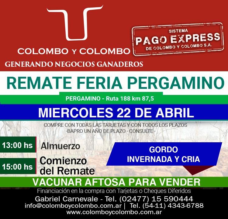 Colombo y Colombo anuncia sus dos próximos remates para el 15 y el 22 de Abril 2
