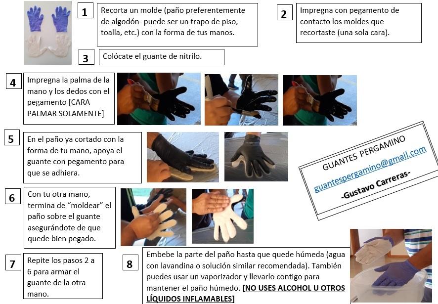 El Guante inventado en Pergamino para luchar contra el Coronavirus 1