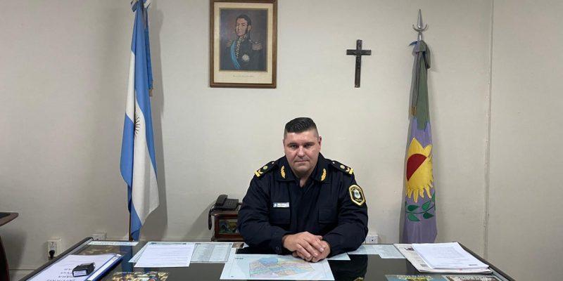 Resumen de hechos policiales y cambios en titulares de comisarías en la palabra del Comisario Inspector Pablo Scoropad 1