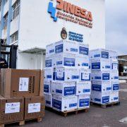 El Ministerio de Salud de la Nación continúa con la entrega de respiradores 11