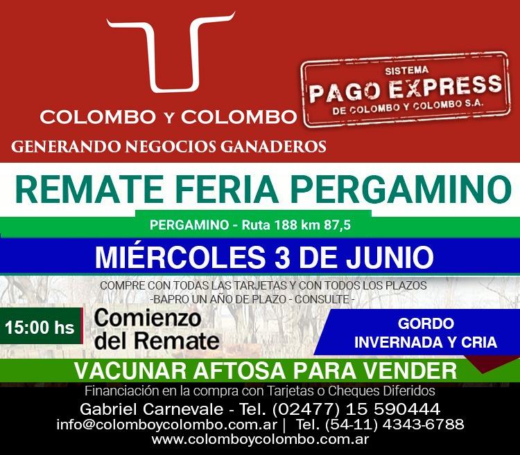 Colombo y Colombo continúa rematando y sigue apostando a la economía regional 2