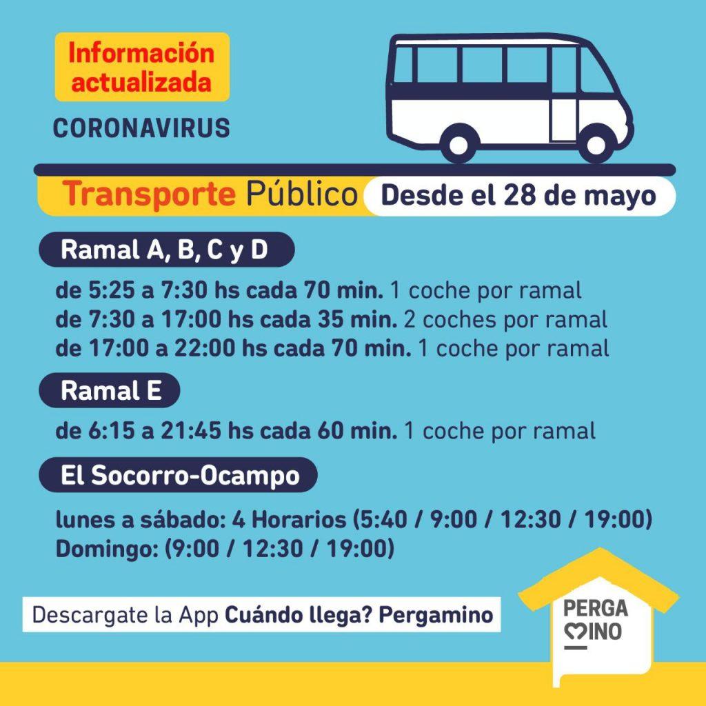 Aumenta la frecuencia horaria del transporte público local 1