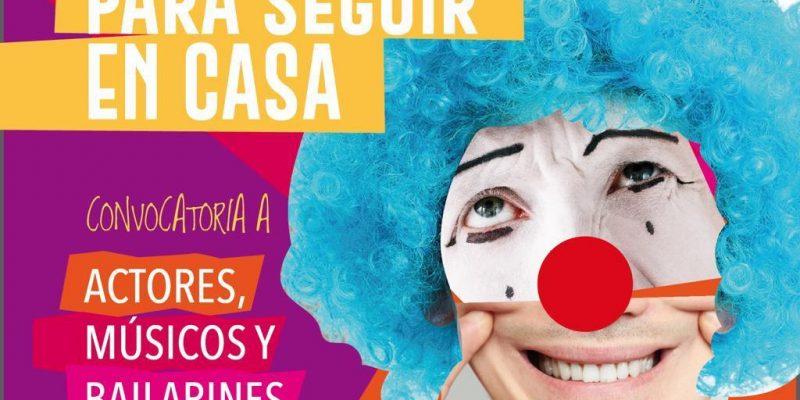 """Lanzan una convocatoria para artistas bajo el lema """"Teatro para seguir en casa"""" 6"""