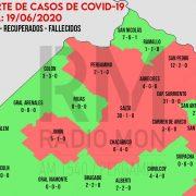 CORONAVIRUS: Mapa regional de COVID-19 - Radio Mon 7