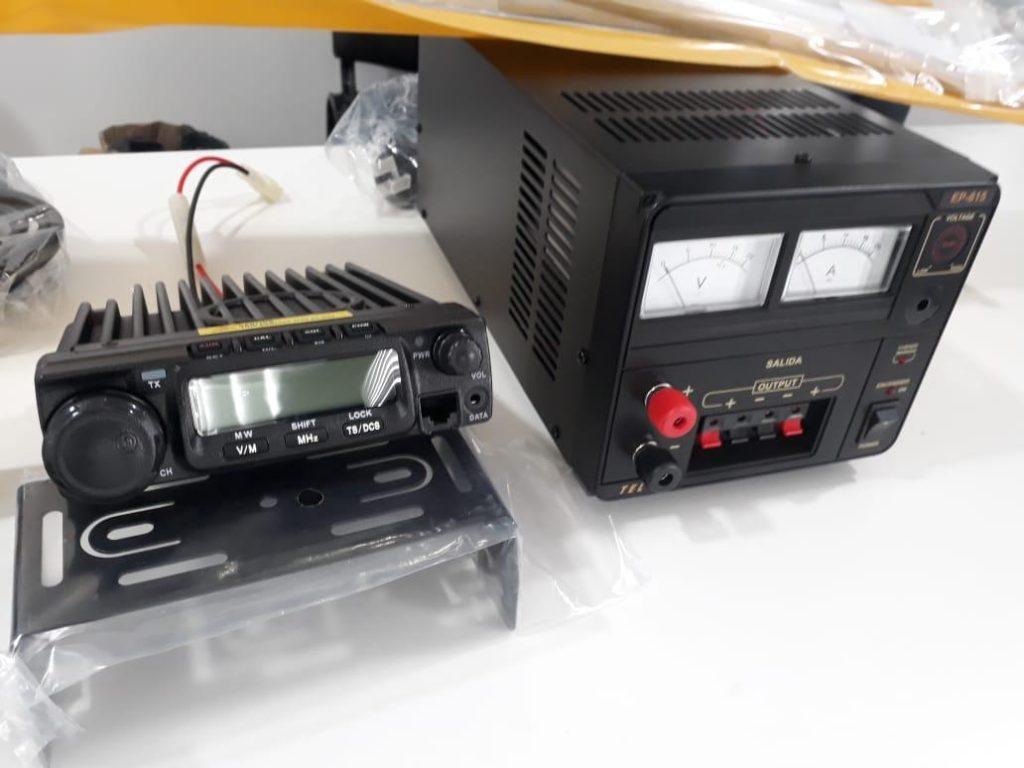 Nuevos equipamientos para mejorar la comunicación del SAME 1