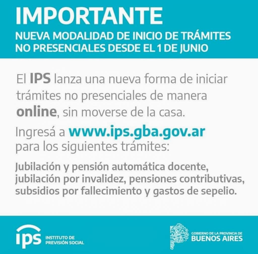 El IPS habilita trámites On-line 1