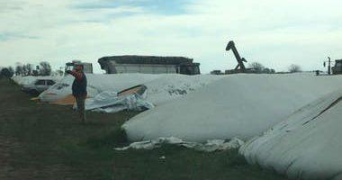 La cerealera Cargill sufrió el ataque a 20 silobolsas y ya vandalizaron más de 120 a nivel país 9