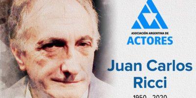 """Murió Juan Carlos Ricci, el """"Asistente"""" de Los Simuladores 9"""