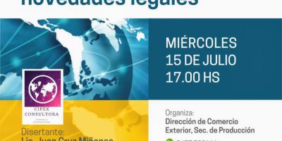 Seminario online de comercio exterior 6