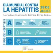 Hoy se conmemora el Día Mundial de la Hepatitis 15
