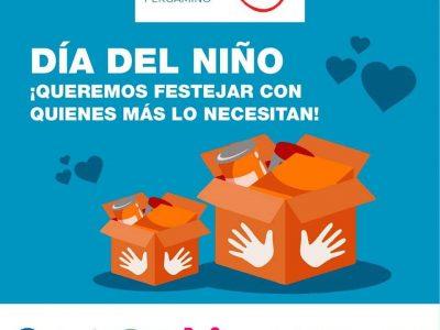 La Cámara de Comercio y X Una Sonrisa Pergamino realizan una acción solidaria de cara al Día del Niño 2