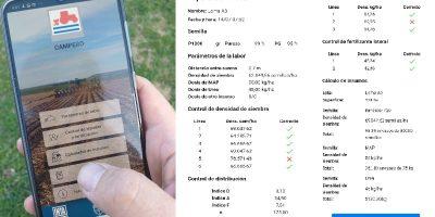 Crean una aplicación para calibrar sembradoras 7