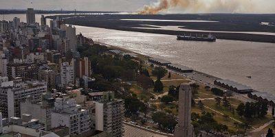 Incendios en el Delta: el olor y el humo que se percibe en nuestra ciudad 8