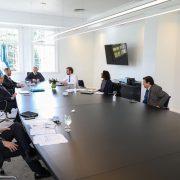 Alberto Fernández encabezó una reunión del gabinete económico en Olivos 4