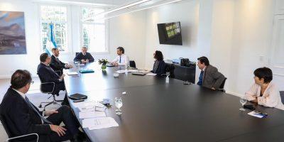 Alberto Fernández encabezó una reunión del gabinete económico en Olivos 5