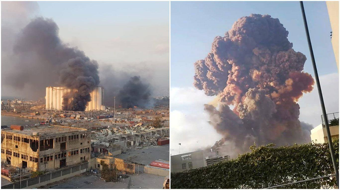 Explosión en Beirut deja al menos 50 víctimas y más de 2700 heridos 1