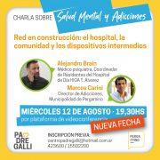"""Charla sobre """"Salud Mental y Adicciones"""", dialogamos con Marcos Carini sobre la conferencia de hoy 3"""