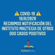 Colón tiene dos nuevos positivos de Coronavirus 8