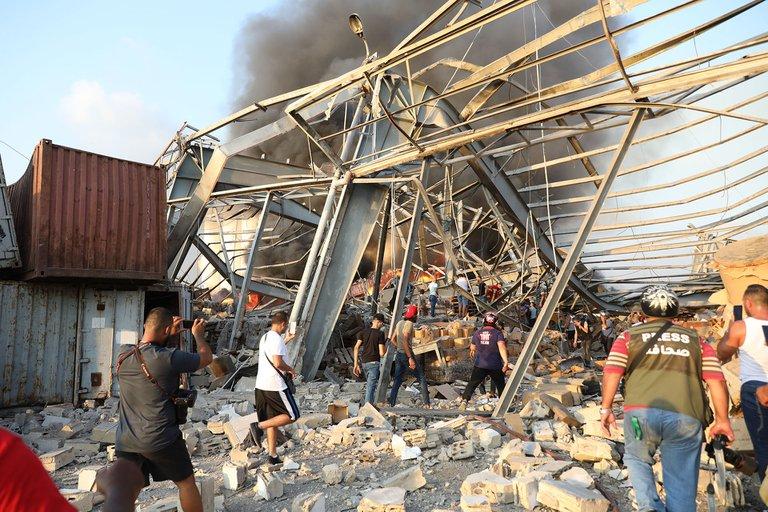 Explosión en Beirut deja al menos 50 víctimas y más de 2700 heridos 2