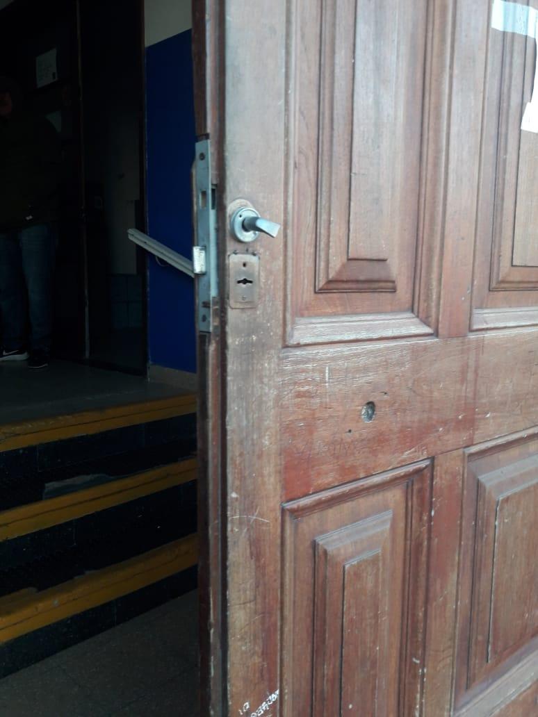 Un sujeto detenido tras robar en la sede del Club Sports 1