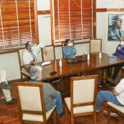 SAN PEDRO: El Intendente recibió a los médicos del Círculo, el Hospital y las Clínicas 9