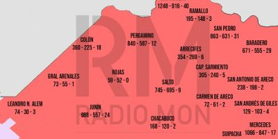 Mapa Regional COVID-19 - RADIO MON 10