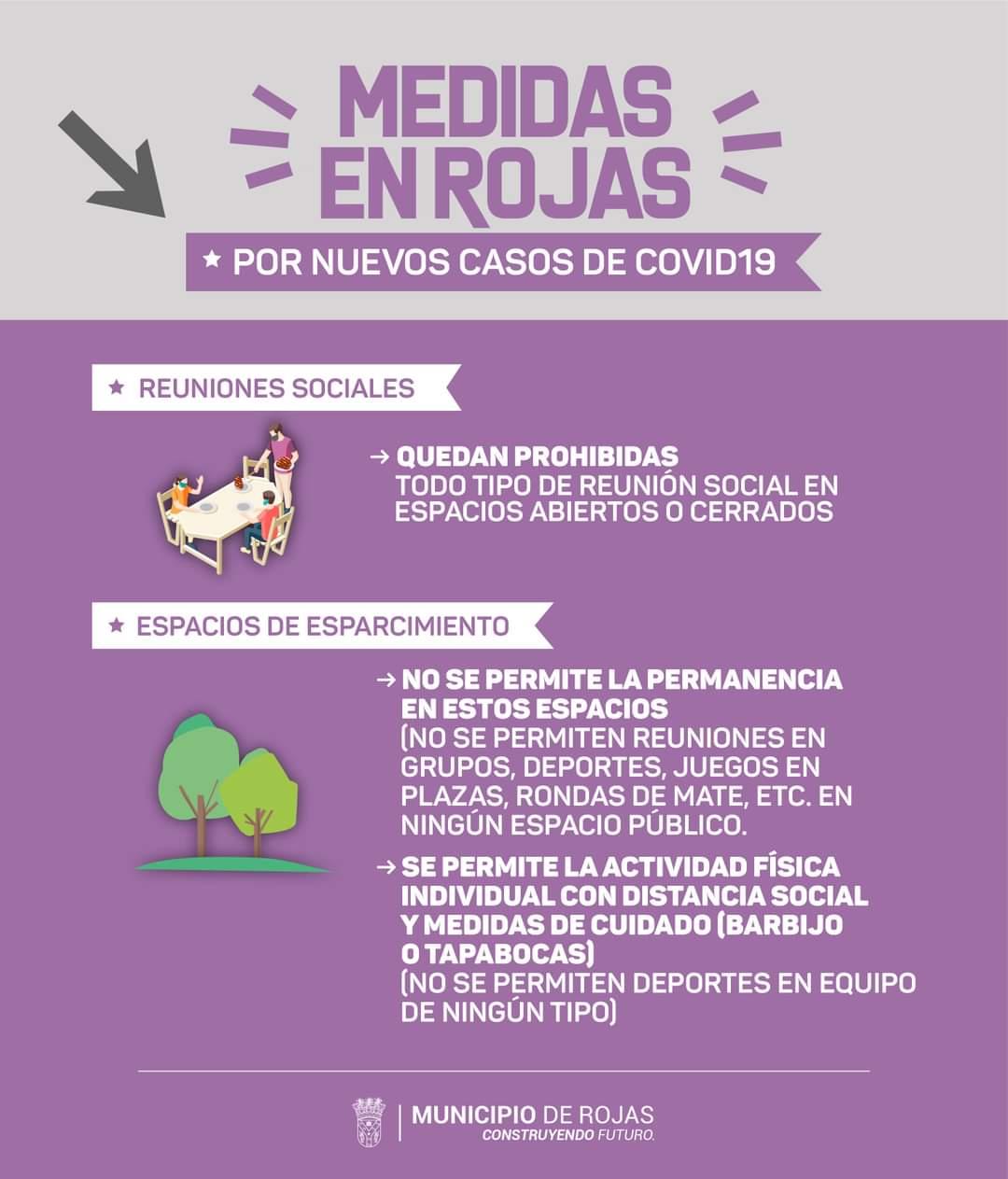 Rojas confirmó 5 nuevos casos positivos de Coronavirus y nuevas medidas provisorias 1