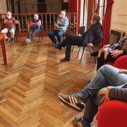 Los propietarios de transportes se reunieron con los concejales 15