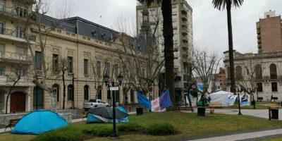Fin del acampe en la plaza: Las organizaciones sociales emitieron un comunicado 5