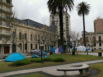 Fin del acampe en la plaza: Las organizaciones sociales emitieron un comunicado 9