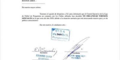 Suspendido el fútbol oficial en Pergamino hasta el año que viene 7