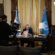Alberto Fernández dió su primer discurso ante la ONU 1
