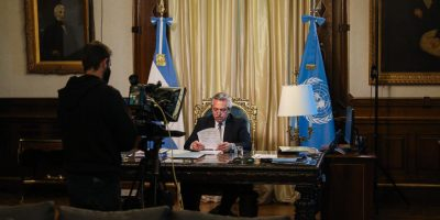 Alberto Fernández dió su primer discurso ante la ONU 9