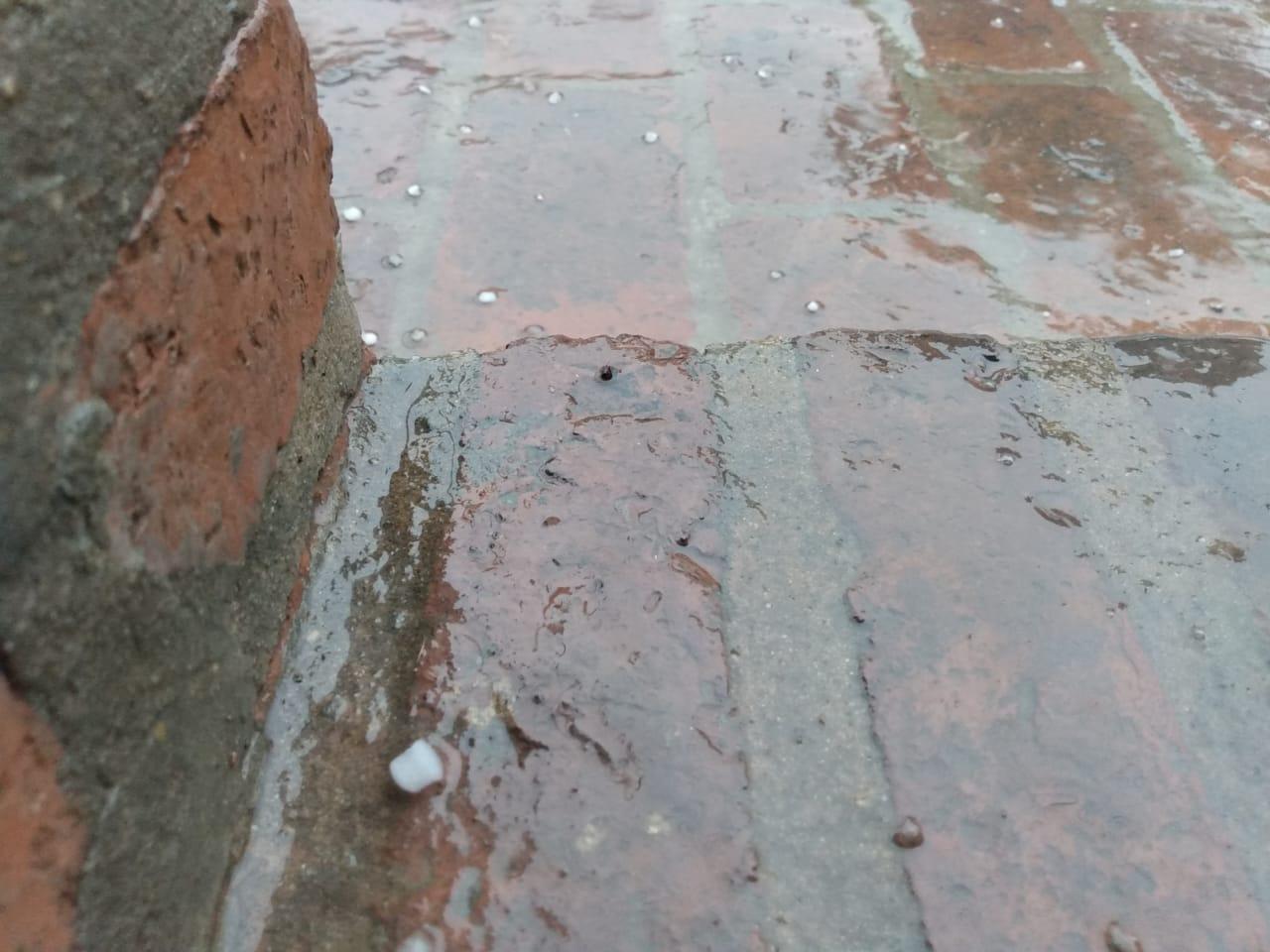 Tormenta con viento, lluvia y caída de granizo en Pergamino. Hablamos con Javier Villalba, director de Defensa Civil 3