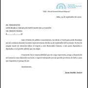 TRAS EL ESCÁNDALO: Renunció el diputado Ameri 14