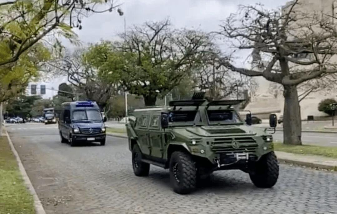 Rosario: Presentaron a las fuerzas federales dispuestas para los operativos de saturación 1