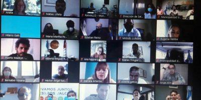 Integrantes del ejecutivo y concejales de Juntos por el Cambio se reunieron por Zoom con el Ministro de Salud de CABA 8