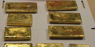 En Manchester subastarán 16kgs de oro incautados a un pasajero en el aeropuerto 9