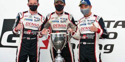 AUTOMOVILISMO: 24 HORAS de Le Mans: después de liderar por media carrera, Pechito López subió al podio 10