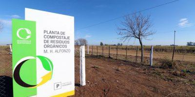 Siguen los trabajos en la planta de compostaje de Mariano H Alfonzo 12