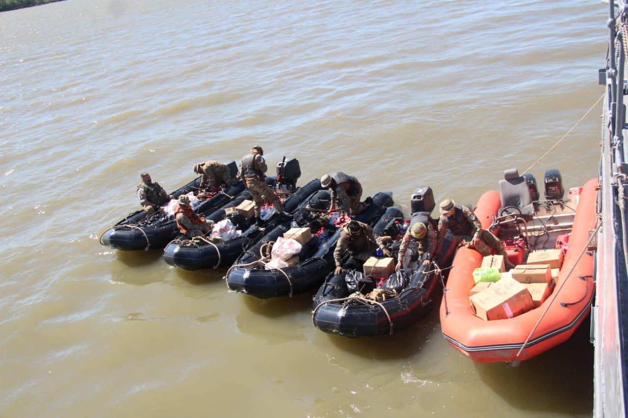 San Pedro: Operativo Sanitario de la Armada Argentina 4