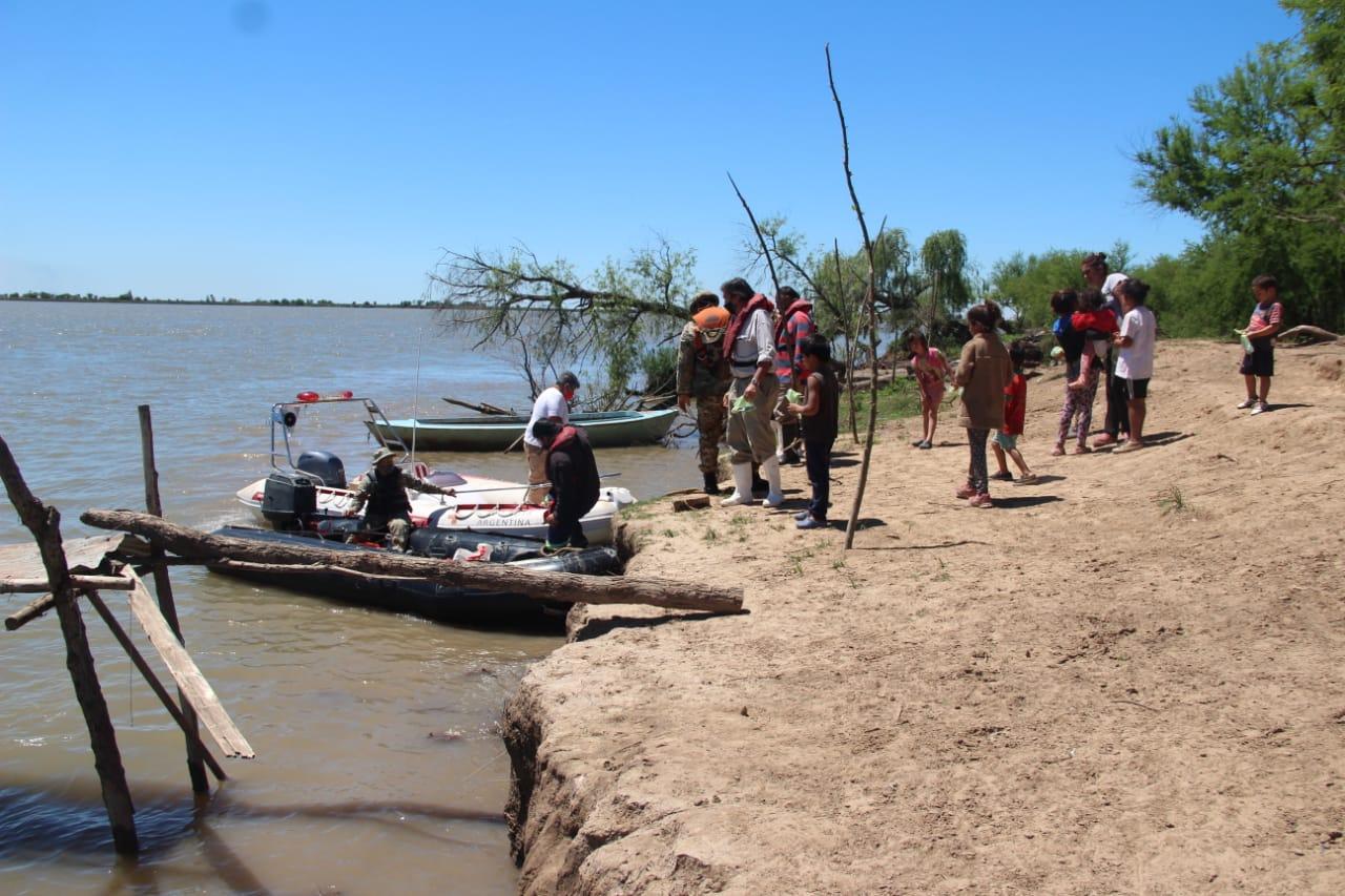 San Pedro: Operativo Sanitario de la Armada Argentina 1